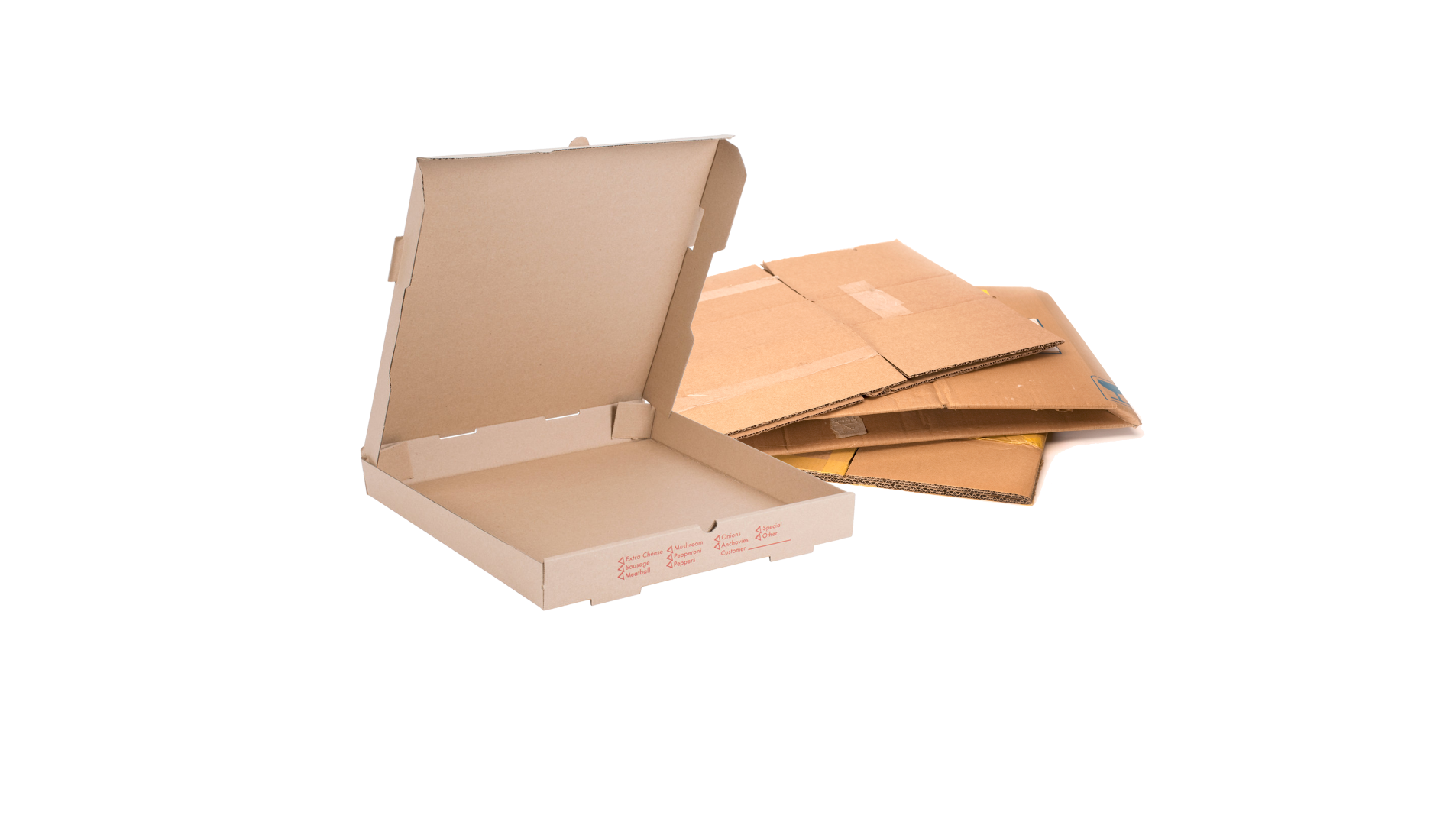 Cardboard and Pizza Box Large