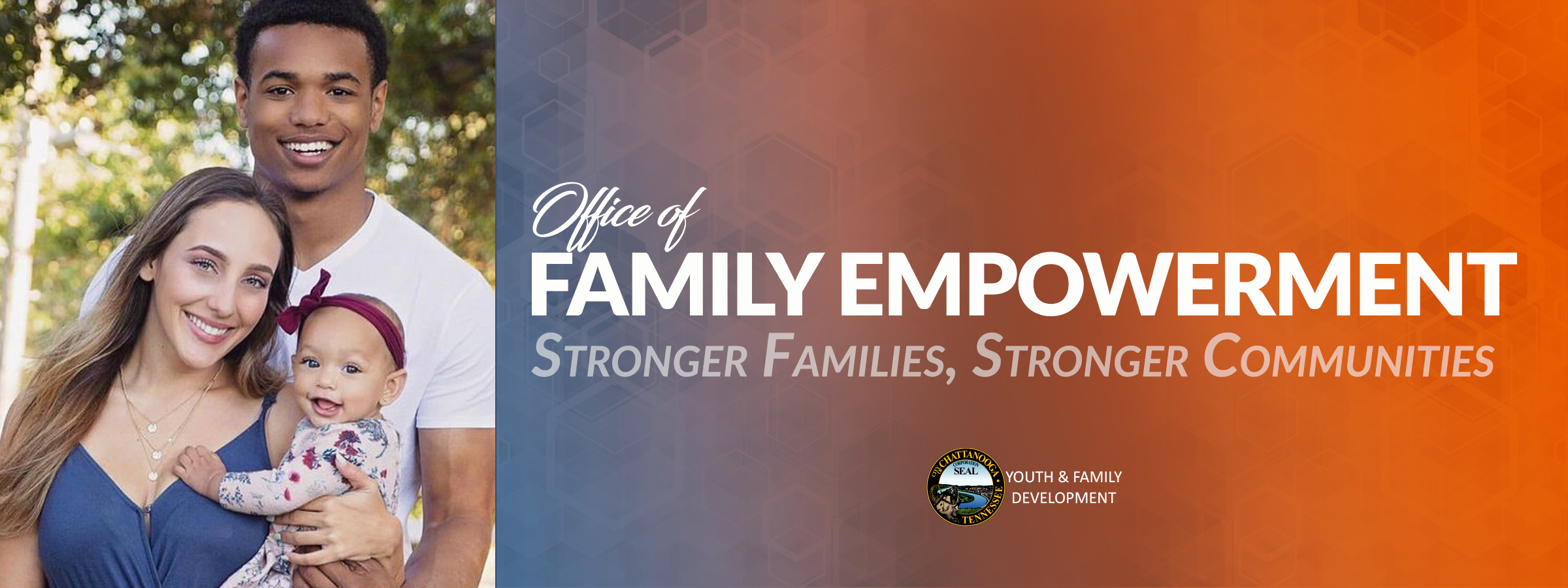 Ofe web banner O OF Family Empowerment