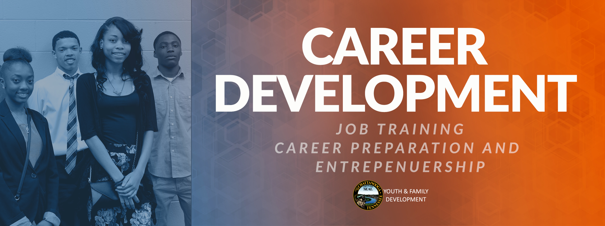 career development web banner
