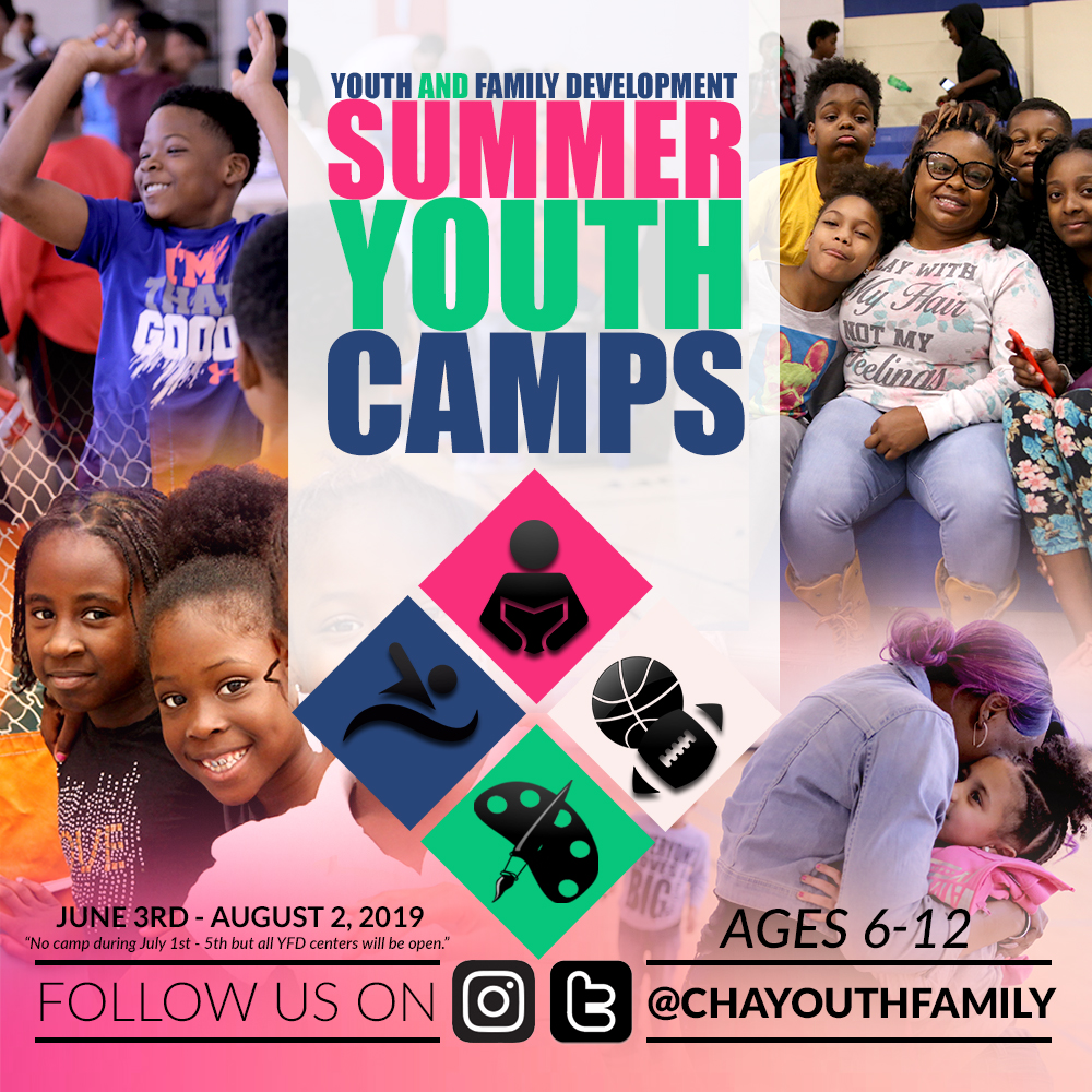 Summer Youth Camps Landing page2019