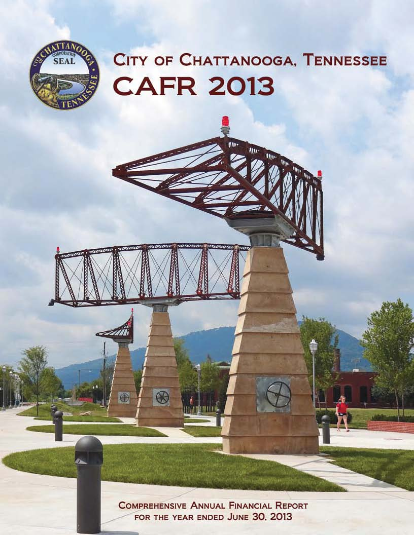 2013 CAFR cover