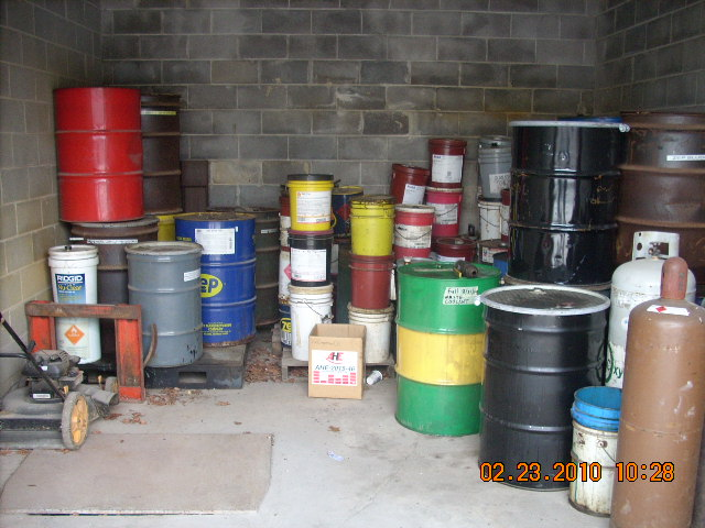 Properly Stored Industrial Materials