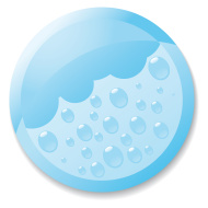 stock illustration 4879929 rain icon part of a set